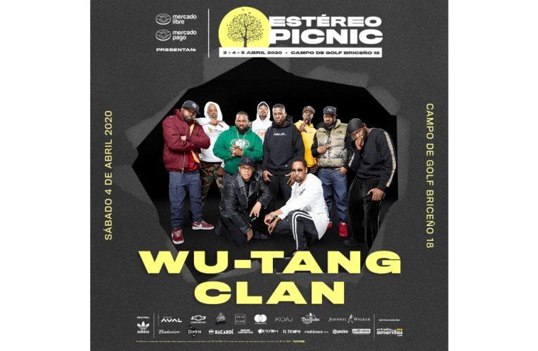 Wu Tang Clan por primera vez en Colombia