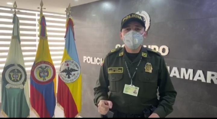 POLICÍA DEL DEPARTAMENTO DE CUNDINAMARCA LLEVÓ A CABO OPERATIVO EN EL QUE SE SANCIONA A 61 PERSONAS
