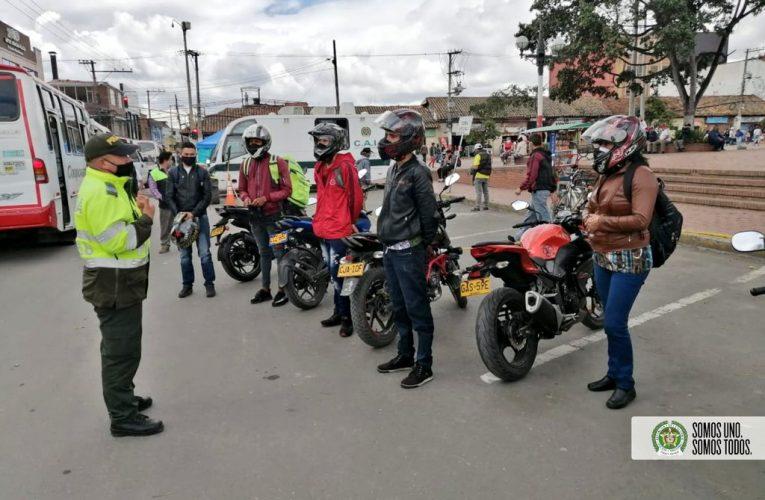 CAMPAÑA DE PREVENCIÓN AL HURTO DE VEHÍCULOS Y MOTOCICLETAS EN SOACHA