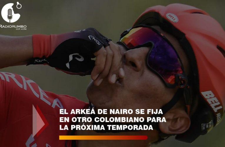 El arkeá de Nairo se fija en otro colombiano para la próxima temporada.