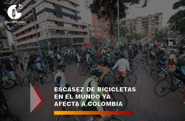 Escasez de bicicletas en el mundo ya afecta a Colombia.