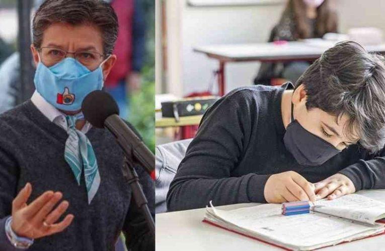 Se planea reapertura de colegios en Bogotá desde el mes de septiembre