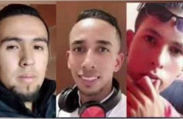 Masacre de tres jóvenes en Soacha pertenecían a una misma familia.