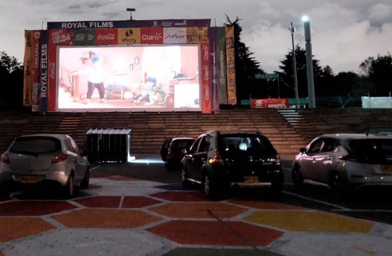 El cine gratuito llega al Parque Simón Bolívar