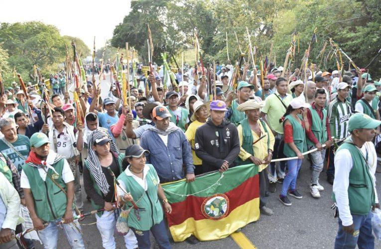 Minga Indígena del Cauca llegaría  Bogotá.