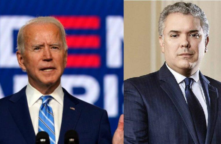 Duque felicita a Joe Biden por su victoria en las elecciones de Estados Unidos