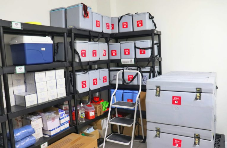 Soacha ya está preparada para recibir las primeras 300 vacunas de Covid-19.