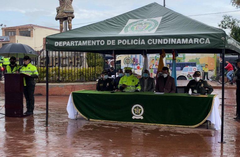 """Arrancó el """"Plan 100"""" contra el microtráfico en Soacha."""