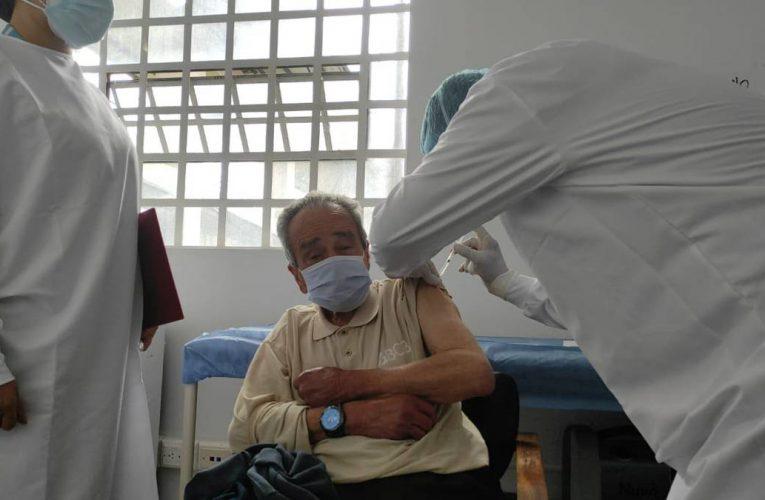 El INPEC inició la segunda fase de vacunación en cárceles de Bogotá