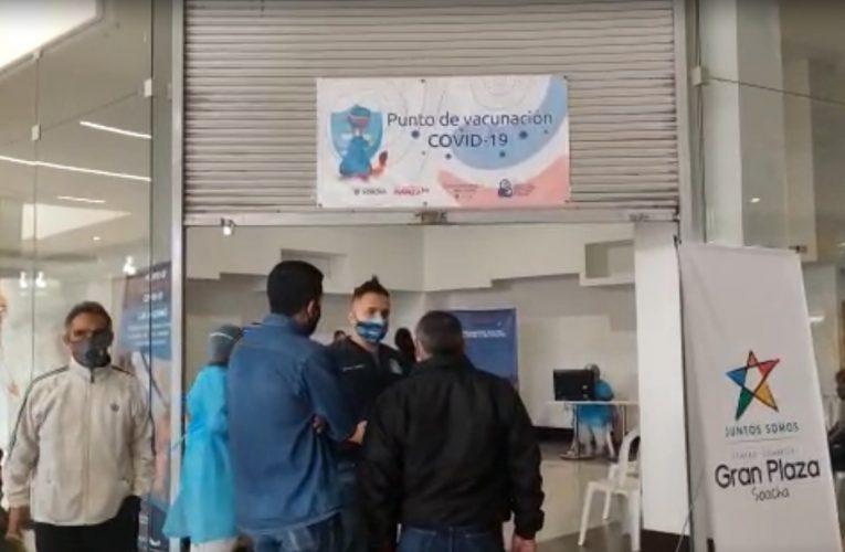 La vacunación contra el COVID en Soacha se traslada a los Centros Comerciales