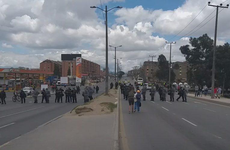 «El alcalde de Soacha nos tiene que dar la cara» manifestantes en nueva jornada de protestas