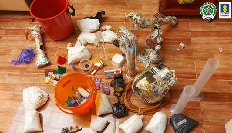 Desmantelan laboratorio de heroína en Nariño