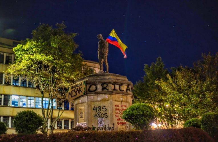 Dilan Cruz es homenajeado en Bogotá
