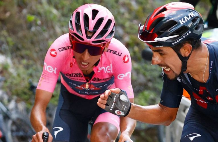 Giro de Italia: Daniel Martínez gregario de lujo