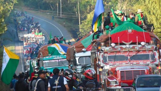 Minga indígena retorna al Cauca por falta de garantías