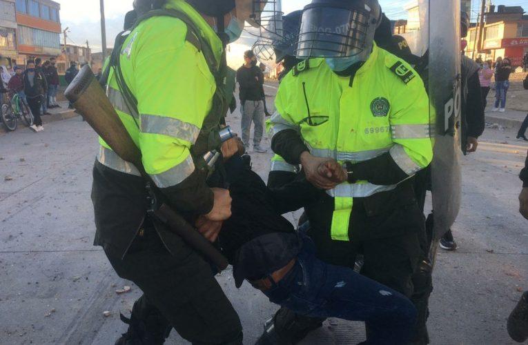 Más de 30 heridos y un muerto habrían dejado protestas en Usme