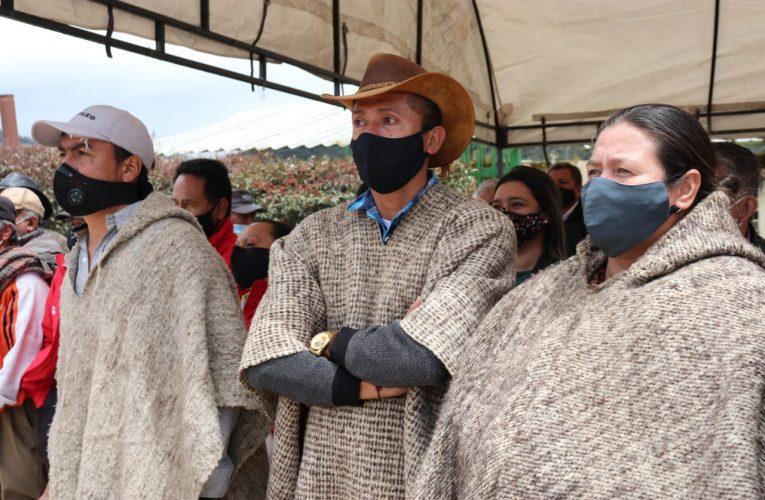 «Lo que buscamos es garantizar la seguridad en la zona rural» afirmó Saldarriaga