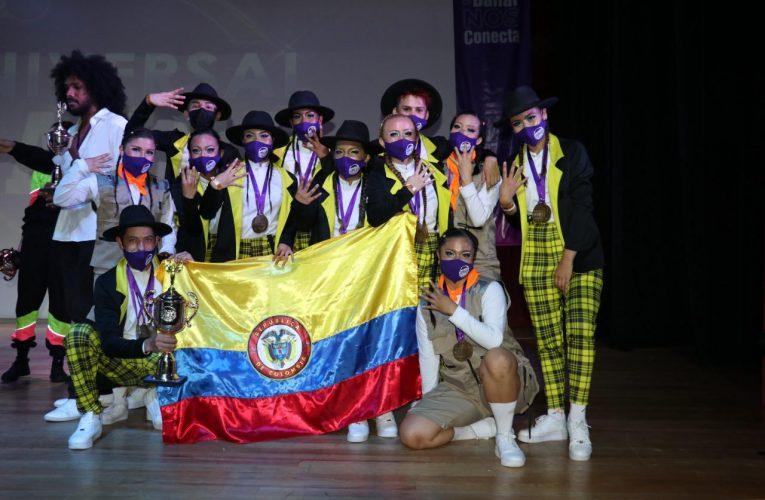 La Academia A4 Urban deja en alto el nombre de Soacha en el mundial de danzas