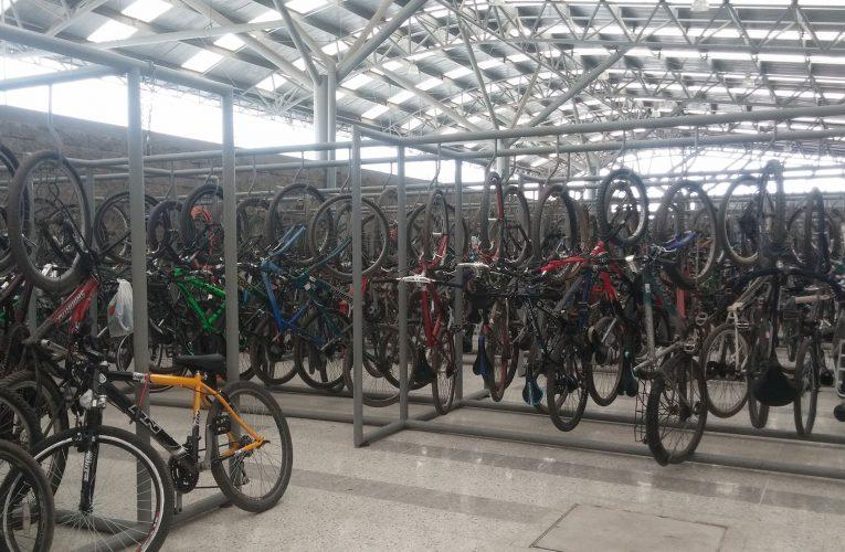 ¿Quién responde? Roban bicicletas  en la estación intermedia de San Mateo