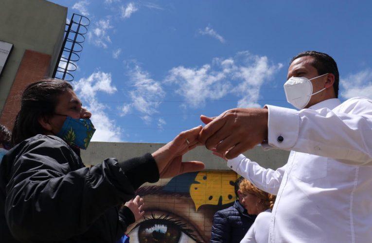 ¿Dónde está la plata para atender a las víctimas, desplazadas, que viven en Soacha?  Juan Carlos Saldarriaga