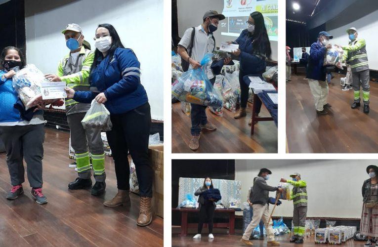 Urbaser y otras organizaciones ayudan a víctimas por ola invernal