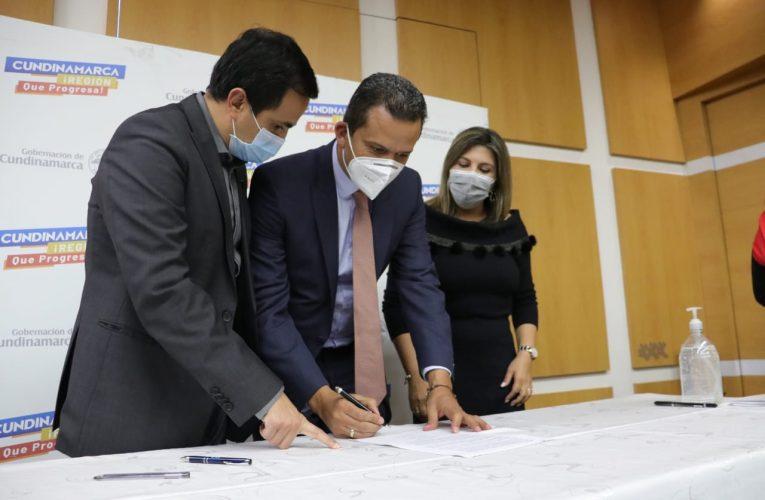 Se firma con Invías el avance de la nueva vía que conectará con los Llanos Orientales