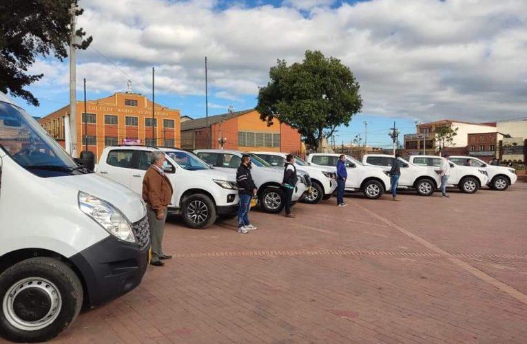 Alcaldía de soacha presentó un nuevo parque automotor
