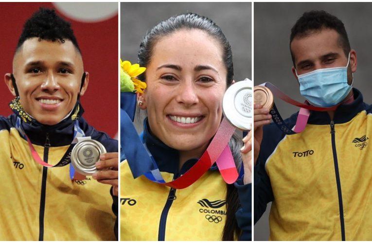 Histórica medalla de plata para Colombia