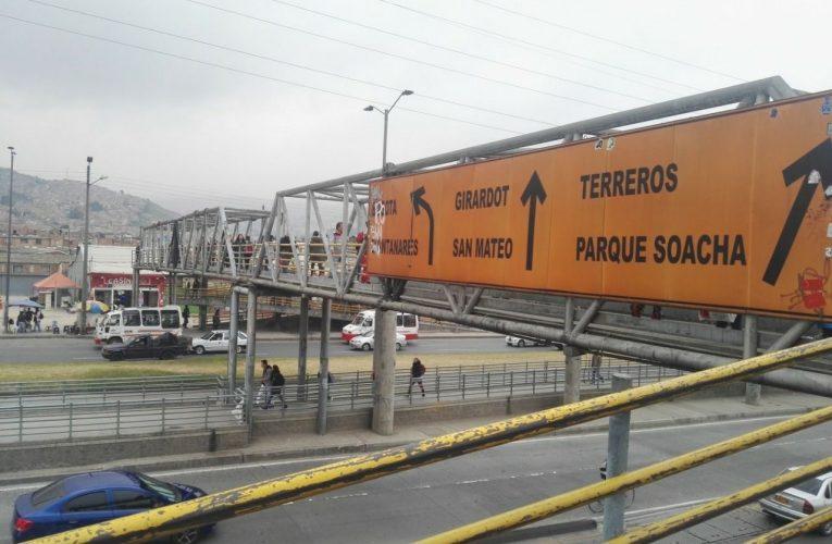 Puente peatonal del león XIII podría colapsar