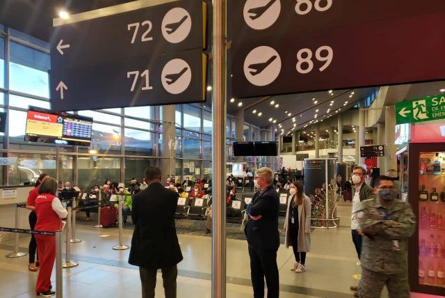 ¿Negligencia medica en el aeropuerto El Dorado?