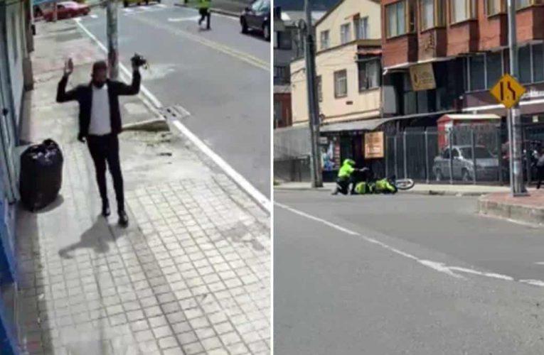 Intento de hurto en Bogotá  provoca un nuevo tiroteo que deja un muerto y tres heridos.