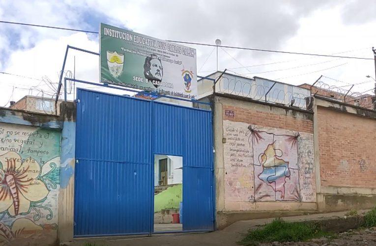 Colegio del barrio Casa Loma en Cazucá presenta problemas con los servicios públicos
