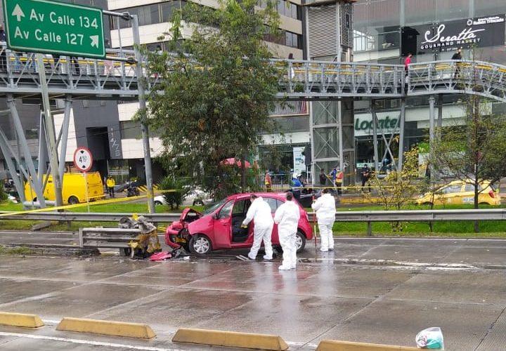 Accidente de Tránsito en Bogotá Deja un Muerto.